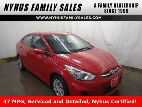 2016 Hyundai Accent for sale at Nyhus Family Sales in Perham MN