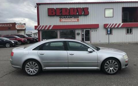2005 Audi A8 L for sale at Berry's Cherries Auto in Billings MT