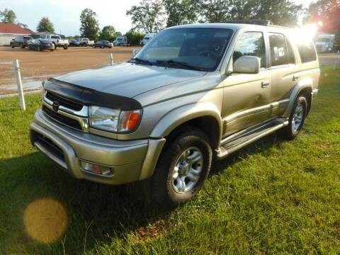 2001 Toyota 4Runner for sale at Cooper's Wholesale Cars in West Point MS