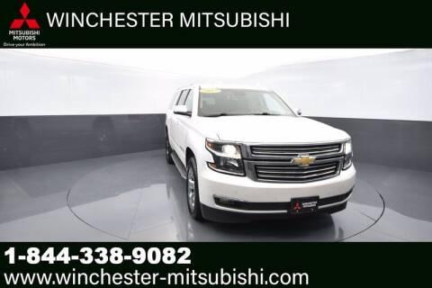 2017 Chevrolet Suburban for sale at Winchester Mitsubishi in Winchester VA