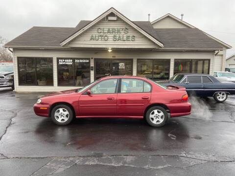 2003 Chevrolet Malibu for sale at Clarks Auto Sales in Middletown OH