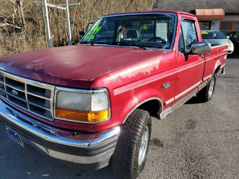 1995 Ford F-150 for sale at Kerwin's Volunteer Motors in Bristol TN