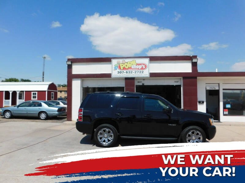 2012 Chevrolet Tahoe for sale at Pork Chops Truck and Auto in Cheyenne WY