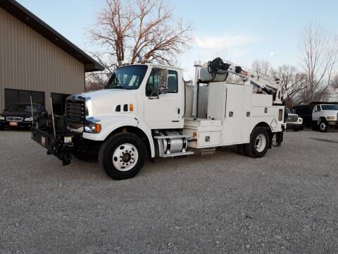 2008 Sterling L7500 SERVICEBED W/CRANE for sale at Rustys Auto Sales - Rusty's Auto Sales in Platte City MO