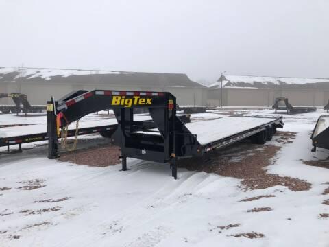 2020 Big Tex 22GN 28+5 Mega Ramps for sale at Prairie Wind Trailers, LLC in Harrisburg SD