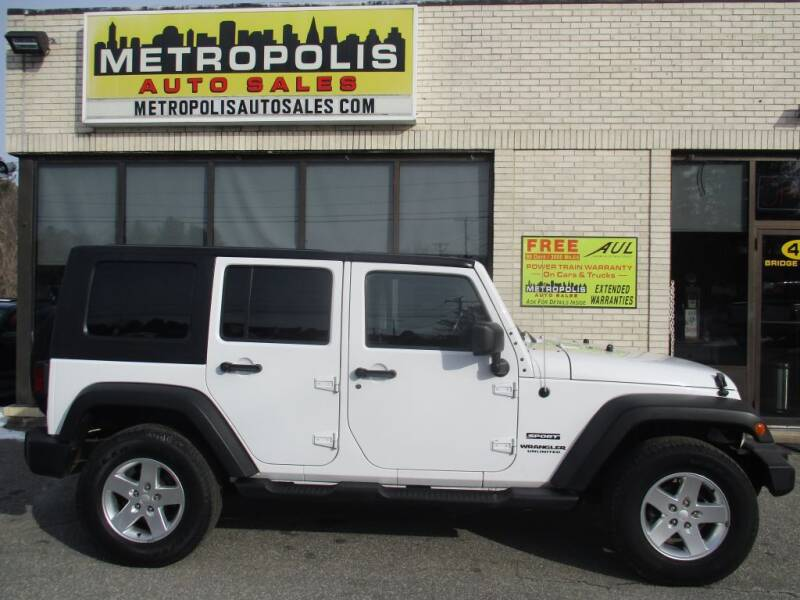 2013 Jeep Wrangler Unlimited for sale at Metropolis Auto Sales in Pelham NH