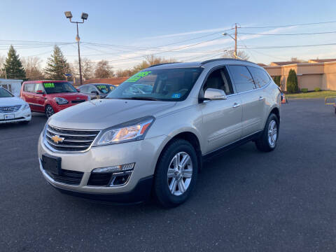 2013 Chevrolet Traverse for sale at Majestic Automotive Group in Cinnaminson NJ