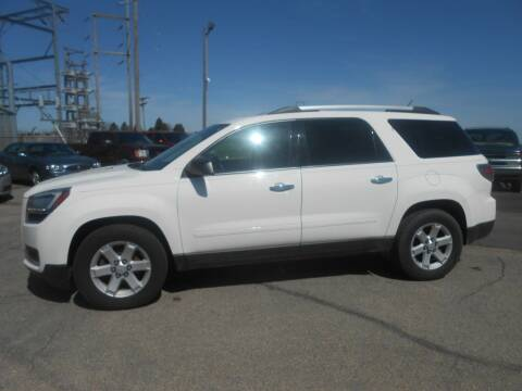 2013 GMC Acadia for sale at Salmon Automotive Inc. in Tracy MN
