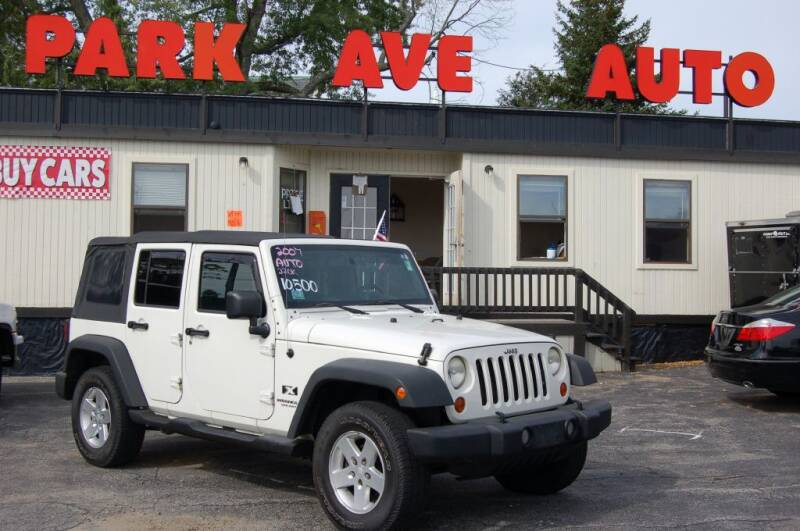 2007 Jeep Wrangler Unlimited for sale at Park Ave Auto Inc. in Worcester MA