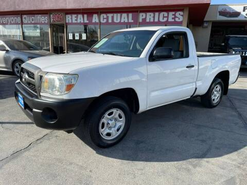 2011 Toyota Tacoma for sale at Sanmiguel Motors in South Gate CA