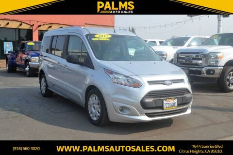 2017 Ford Transit Connect Wagon for sale at Palms Auto Sales in Citrus Heights CA