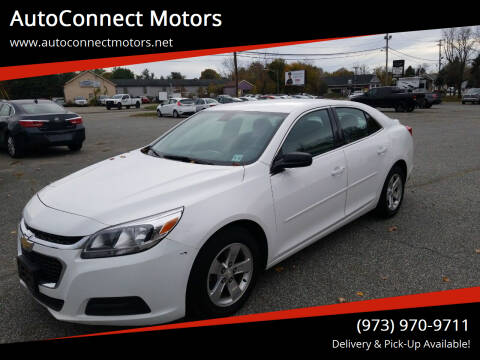 2016 Chevrolet Malibu Limited for sale at AutoConnect Motors in Kenvil NJ