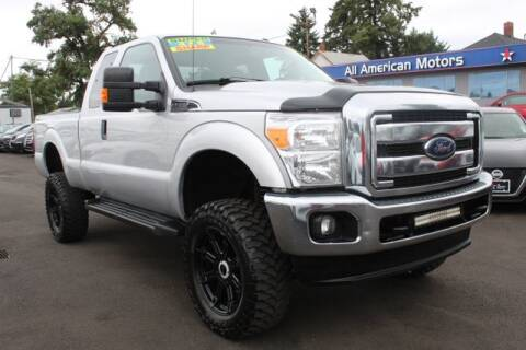 2015 Ford F-250 Super Duty for sale at All American Motors in Tacoma WA