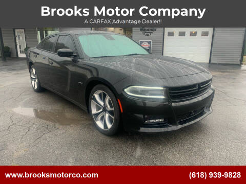2016 Dodge Charger for sale at Brooks Motor Company in Columbia IL