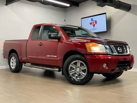 2013 Nissan Titan for sale at TX Auto Group in Houston TX
