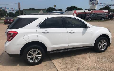 2016 Chevrolet Equinox for sale at Pioneer Auto in Ponca City OK