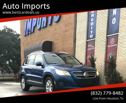2009 Volkswagen Tiguan for sale at Auto Imports in Houston TX