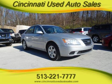 2010 Hyundai Sonata for sale at Cincinnati Used Auto Sales in Cincinnati OH