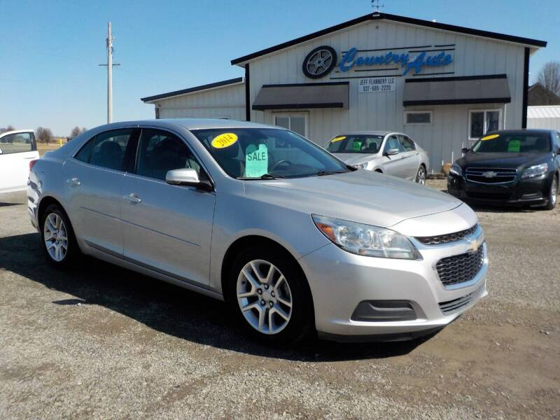 2014 Chevrolet Malibu for sale at Country Auto in Huntsville OH