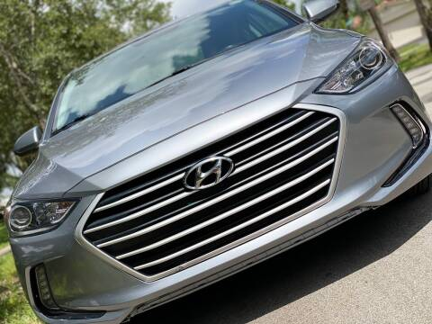 2017 Hyundai Elantra for sale at HIGH PERFORMANCE MOTORS in Hollywood FL