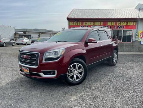 2015 GMC Acadia for sale at Yaktown Motors in Union Gap WA