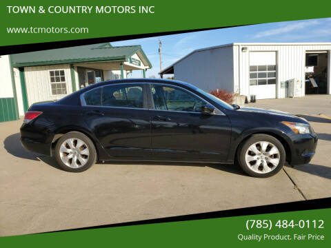 2008 Honda Accord for sale at Town & Country Motors Inc. in Meriden KS