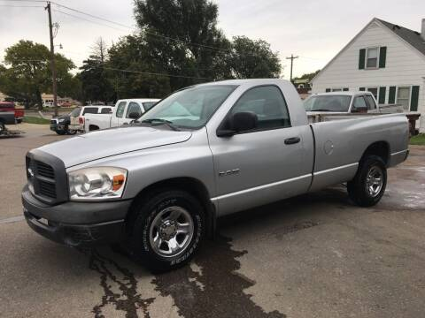 2008 Dodge Ram Pickup 1500 for sale at Gordon Auto Sales LLC in Sioux City IA