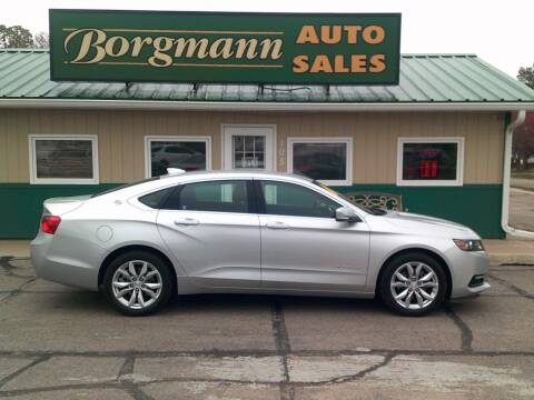 2019 Chevrolet Impala for sale at Borgmann Auto Sales in Norfolk NE