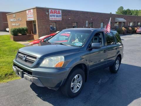 2005 Honda Pilot for sale at ARA Auto Sales in Winston-Salem NC