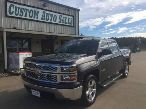 2014 Chevrolet Silverado 1500 for sale at Custom Auto Sales - AUTOS in Longview TX