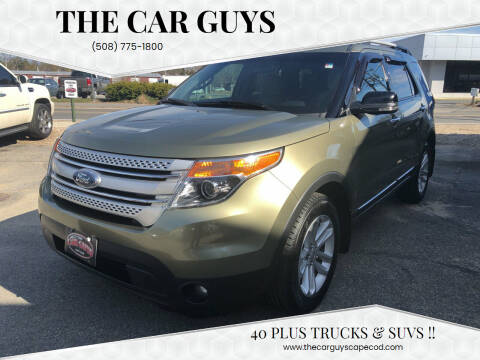 2012 Ford Explorer for sale at The Car Guys in Hyannis MA