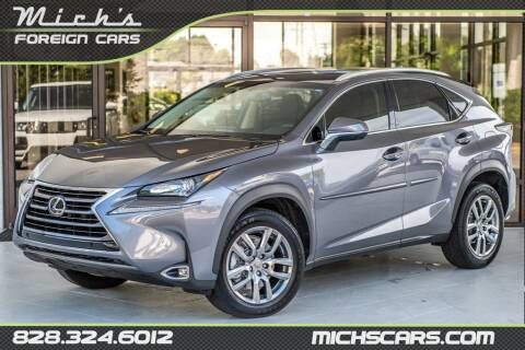 2015 Lexus NX 200t for sale at Mich's Foreign Cars in Hickory NC