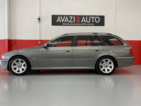 2002 BMW 5 Series for sale at AVAZI AUTO GROUP LLC in Gaithersburg MD