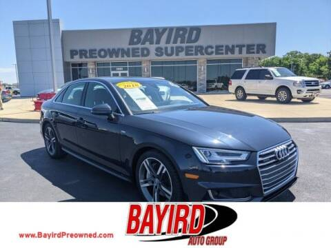 2018 Audi A4 for sale at Bayird Truck Center in Paragould AR