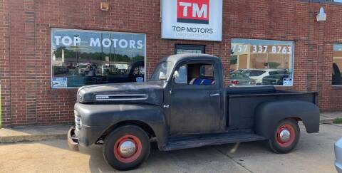 1950 Ford F-100 for sale at Top Motors LLC - Classic Cars in Portsmouth VA