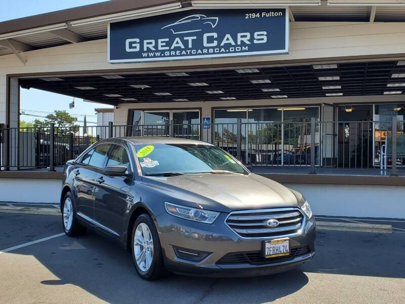 2015 Ford Taurus for sale at Great Cars in Sacramento CA