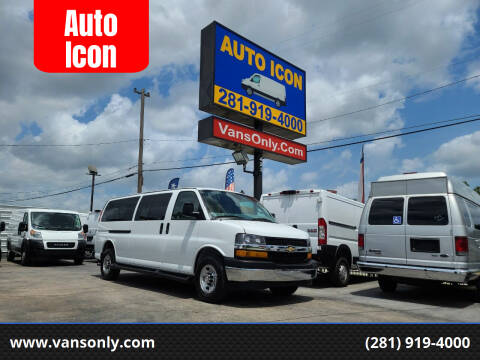 2020 Chevrolet Express Passenger for sale at Auto Icon in Houston TX