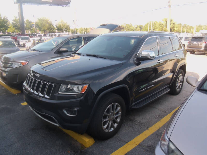 2014 Jeep Grand Cherokee for sale at ORANGE PARK AUTO in Jacksonville FL