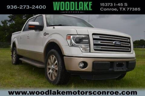 2014 Ford F-150 for sale at WOODLAKE MOTORS in Conroe TX