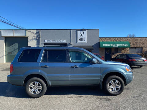 2005 Honda Pilot for sale at 57 AUTO in Feeding Hills MA