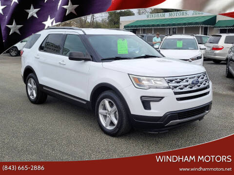 2018 Ford Explorer for sale at Windham Motors in Florence SC