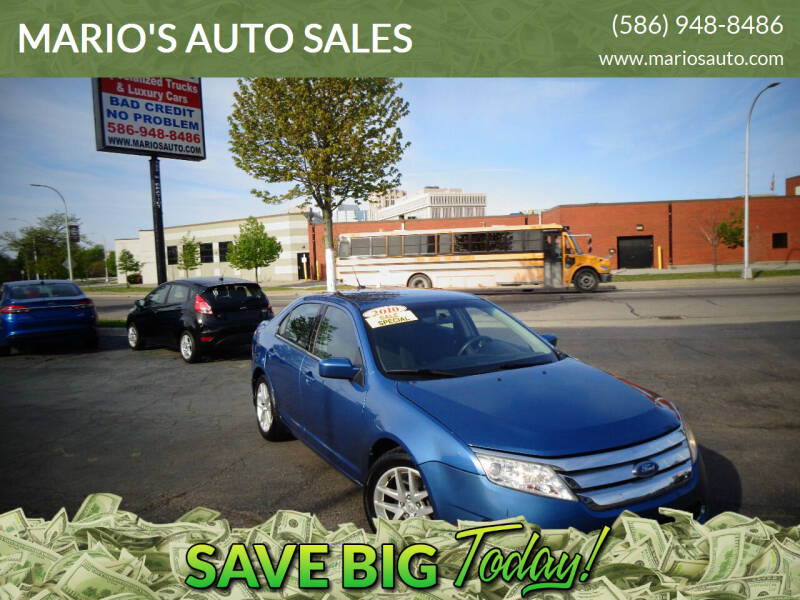 2010 Ford Fusion for sale at MARIO'S AUTO SALES in Mount Clemens MI