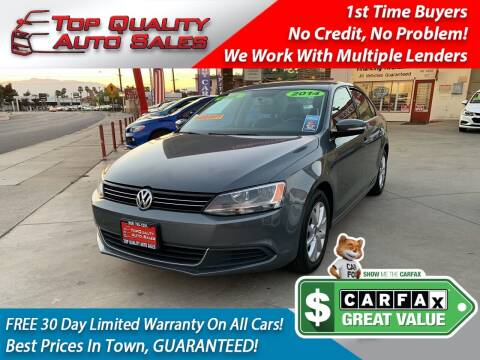 2014 Volkswagen Jetta for sale at Top Quality Auto Sales in Redlands CA