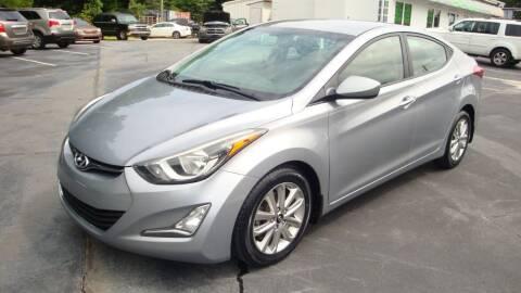 2016 Hyundai Elantra for sale at Glory Motors in Rock Hill SC