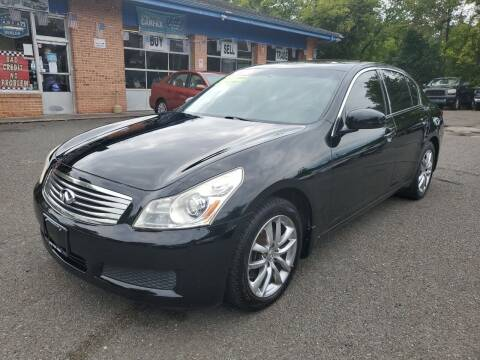 2007 Infiniti G35 for sale at CENTRAL AUTO GROUP in Raritan NJ