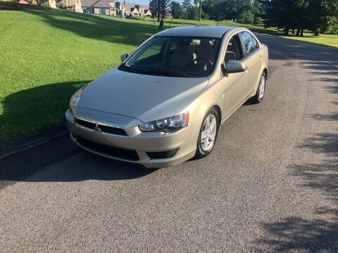 2008 Mitsubishi Lancer for sale at Billycars in Wilmington MA