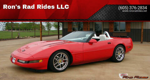 1993 Chevrolet Corvette for sale at Ron's Rad Rides LLC in Elk River MN