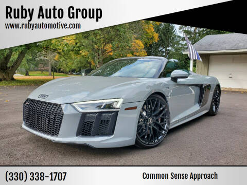 2018 Audi R8 for sale at Ruby Auto Group in Hudson OH