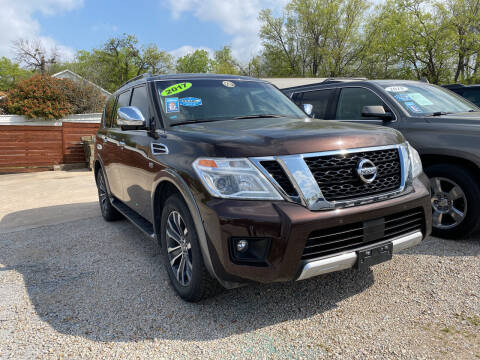2017 Nissan Armada for sale at Speedway Motors TX in Fort Worth TX