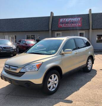 2007 Honda CR-V for sale at Stephen Motor Sales LLC in Caldwell OH
